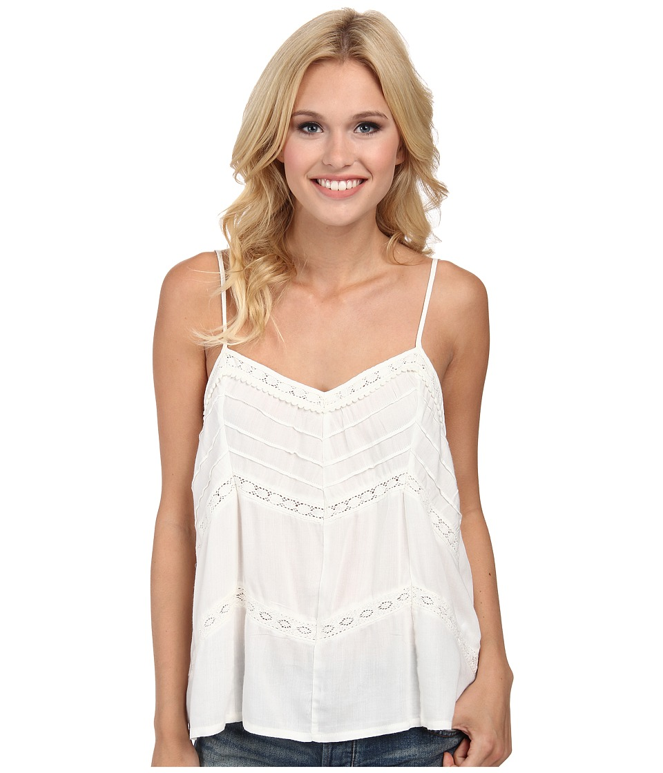 Volcom - Straight Laced Cami Top (Cream) Women's Sleeveless