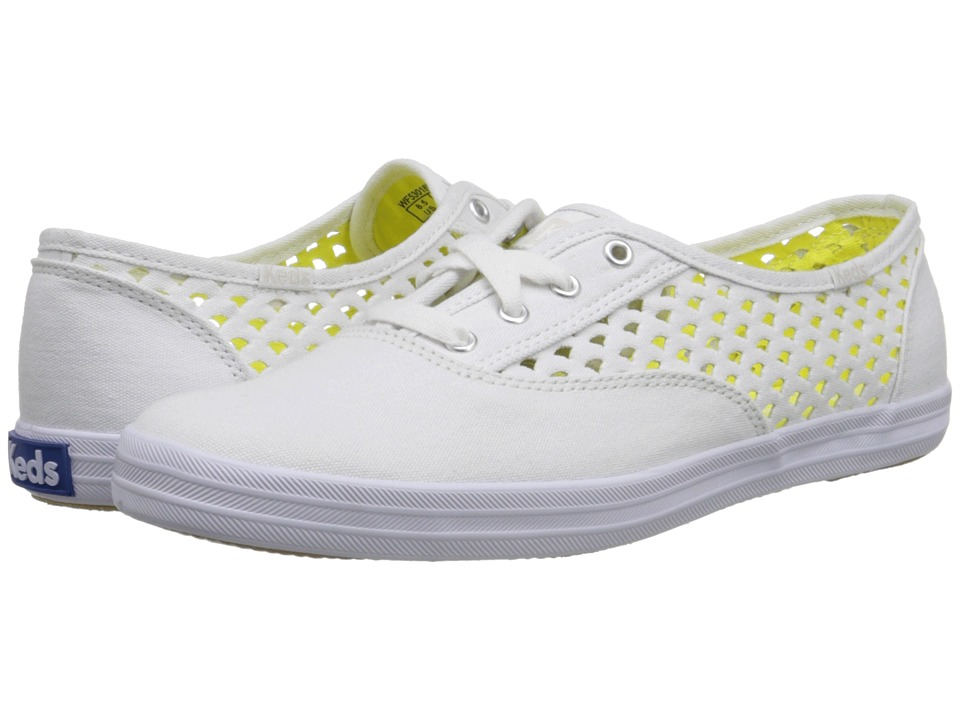 Keds - Champion Heather Perf (White) Women's Shoes