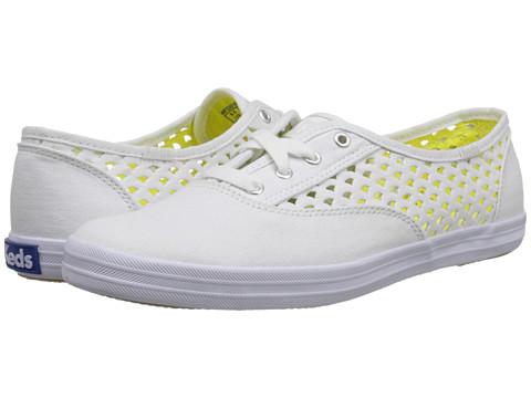 Keds - Champion Heather Perf (White) Women