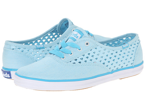 Keds - Champion Heather Perf (Blue) Women's Shoes