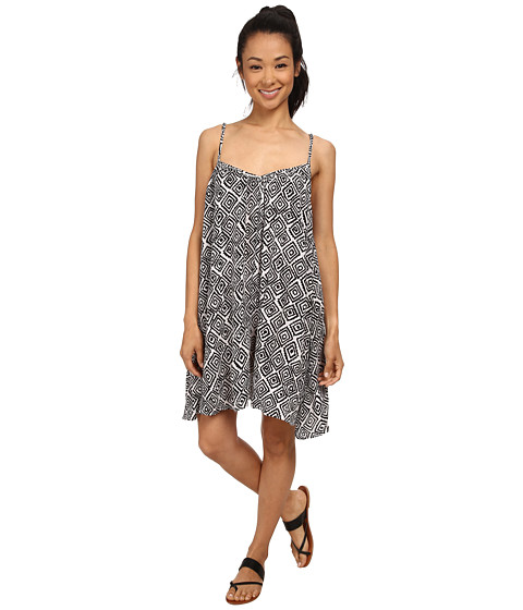 Volcom - Escape With Me Dress (Black) Women's Dress