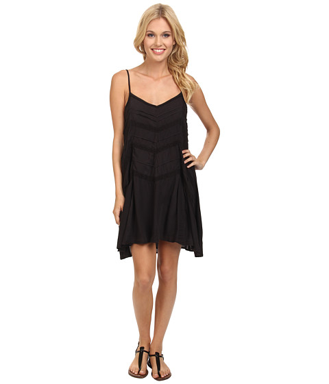 Volcom - Straight Laced Dress (Black) Women's Dress