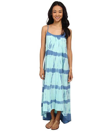 Volcom - Dainty Babe Dress (Coastal Blue) Women's Dress