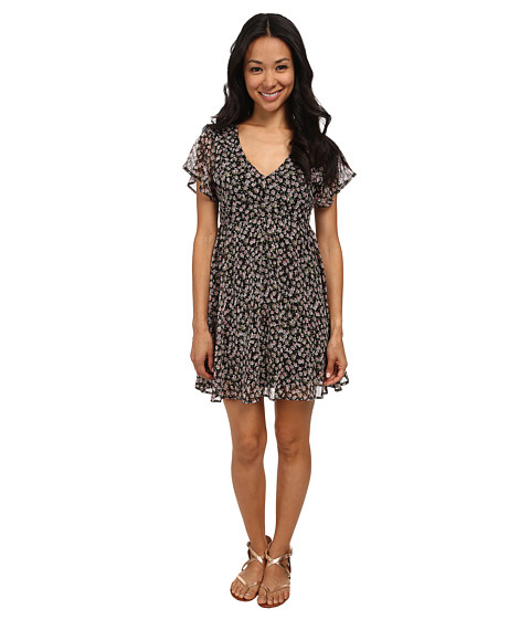 Volcom - So Serious Dress (Black Combo) Women's Dress