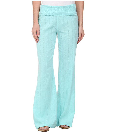 Volcom - Oh Ya Mama Pant (Coastal Blue) Women's Casual Pants