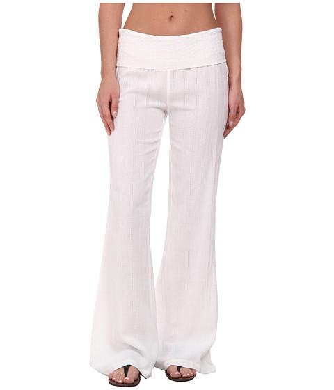 Volcom - Oh Ya Mama Pant (White) Women's Casual Pants