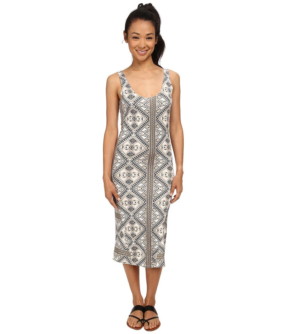 Volcom - Lottie Dah Dress (Cream) Women