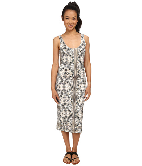Volcom - Lottie Dah Dress (Cream) Women's Dress
