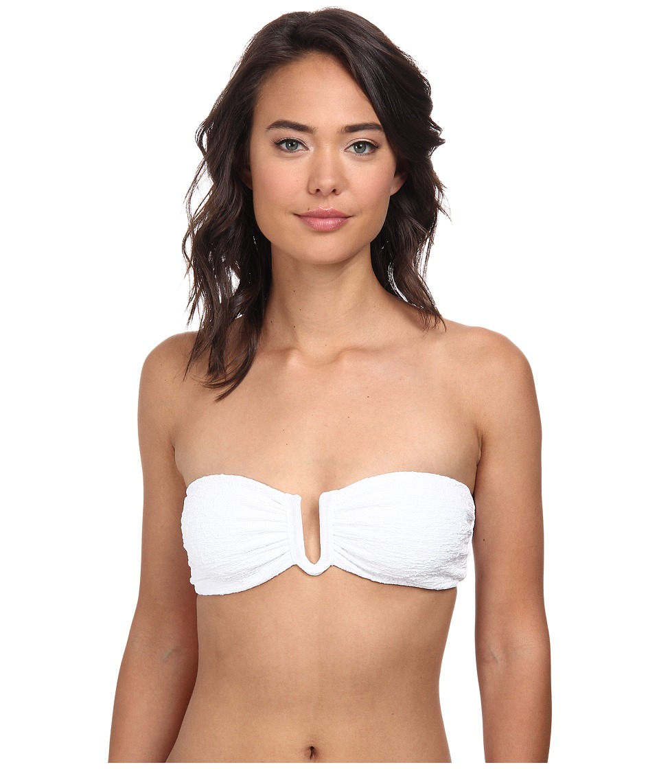 Beach Riot - Peony Top (White) Women's Swimwear
