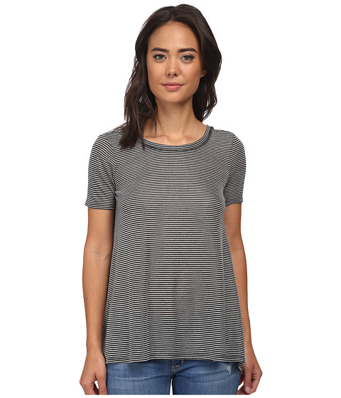 Billabong - Take It In Tee (Black/White) Women's T Shirt