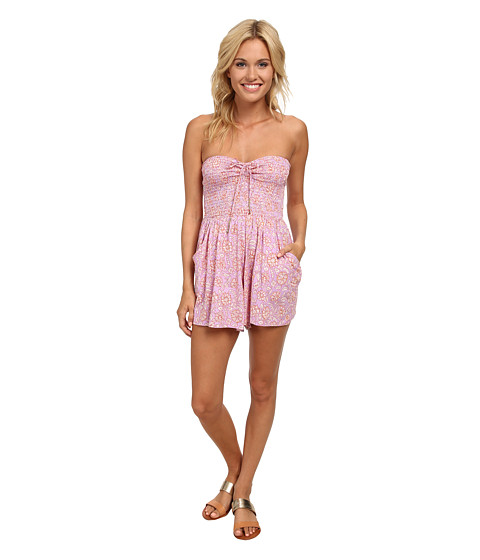 Billabong - You Had Me Romper (Lavender) Women's Jumpsuit & Rompers One Piece