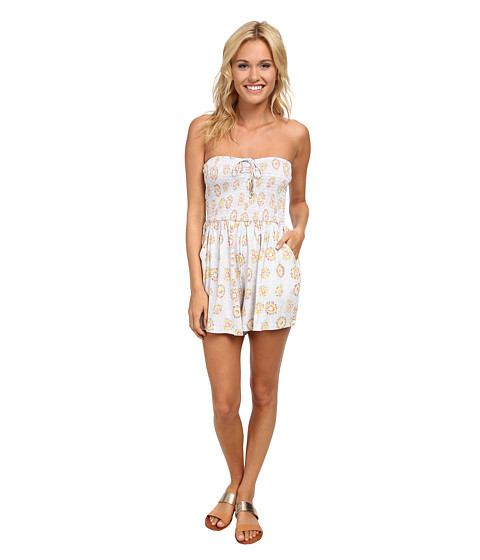 Billabong - You Had Me Romper (Skylight) Women's Jumpsuit & Rompers One Piece