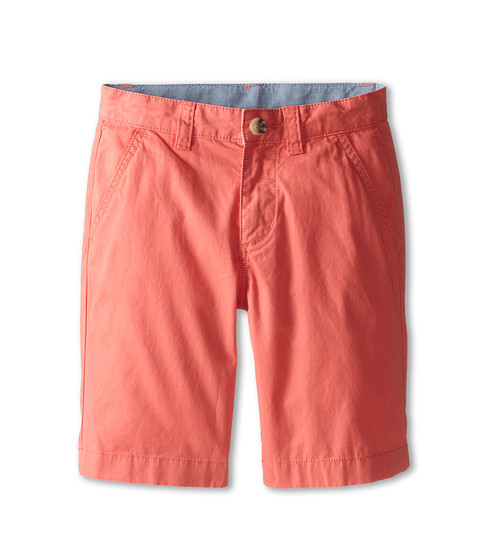Lacoste Kids - Cotton Gabardine Bermuda Short (Little Kids/Big Kids) (Mambo) Boy