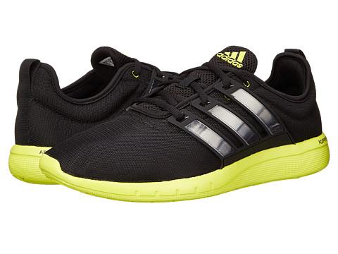 adidas Running - CC Leap (Black/Black/Semi Solar Yellow) Men