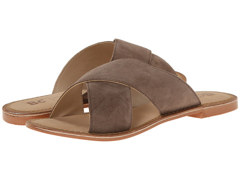 BC Footwear - Dear (Taupe Suede) Women's Sandals