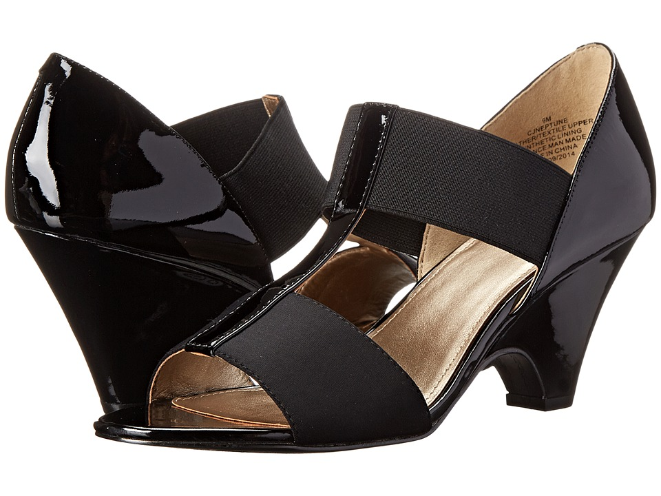 Circa Joan & David - Neptune (Black) Women's 1-2 inch heel Shoes