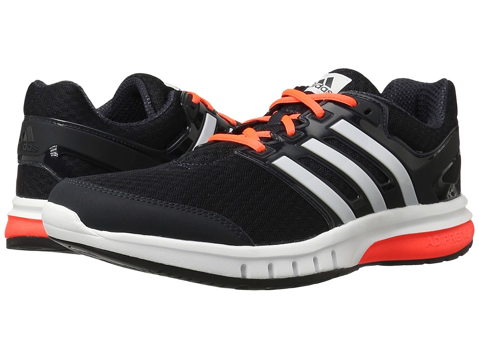 adidas - Galaxy Elite (Night Grey/White/Solar Red) Men's Shoes
