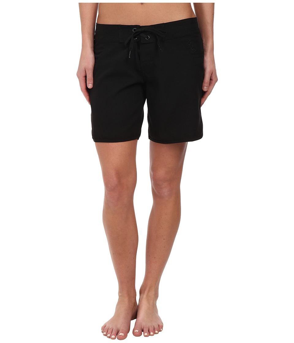 Rip Curl - Love N Surf 7 Boardshorts (Black) Women's Swimwear