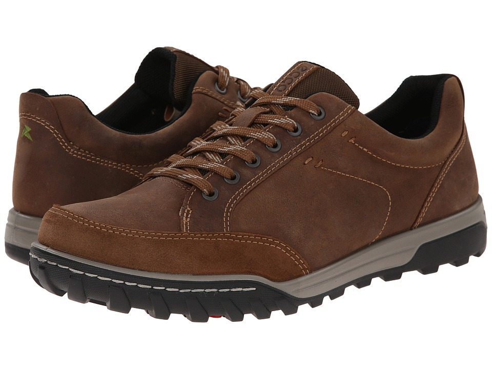 ECCO Sport - Urban Lifestyle Vermont (Camel/Camel/Black) Men's Lace up casual Shoes