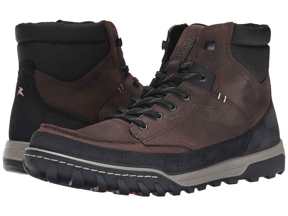 ECCO Sport - Urban Lifestyle High (Black/Coffee) Men's Lace up casual Shoes