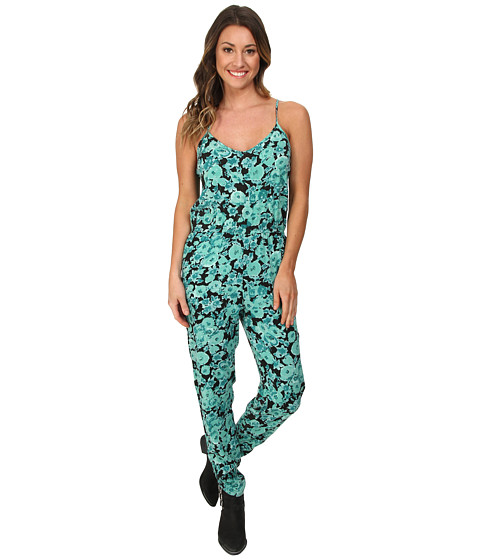 Volcom - Backlash Jumpsuit (Green Spray) Women