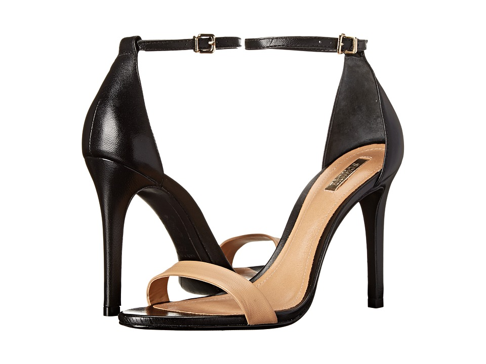 Schutz Cadey-Lee (Light Wood/Black) High Heels
