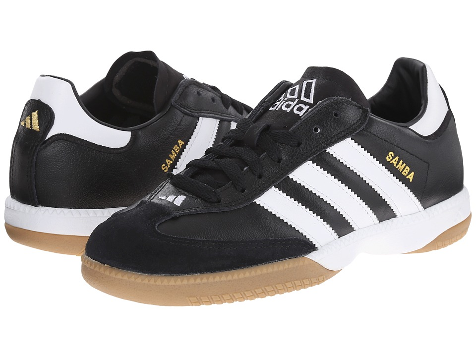 adidas - Samba(r) Millennium (Black/White) Soccer Shoes