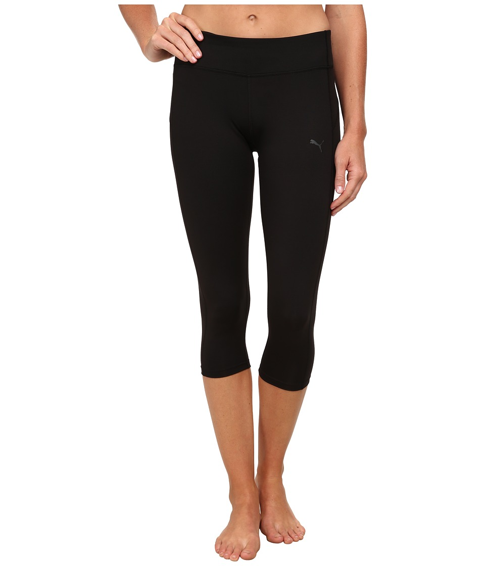 PUMA - WT Essential 3/4 Tight (Black) Women's Workout