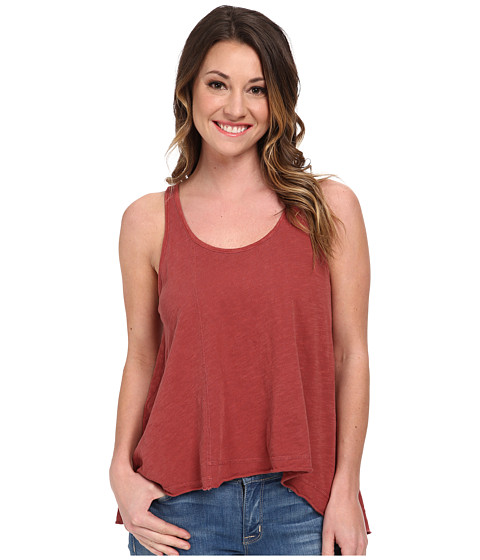 Volcom - Broke En Tank Top (Vintage Brown) Women