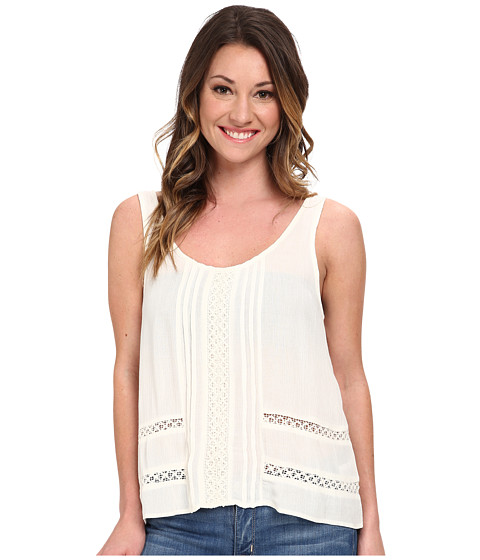 Volcom - Market Street Cami Top (Cream) Women