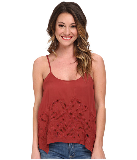 Volcom - Upstate Cami Top (Vintage Brown) Women's Sleeveless