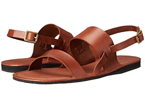 Fitzwell - Alex (Dark Brown) Men's Flat Shoes