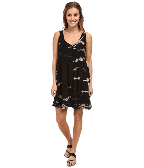 Volcom - Freudian Slip Dress (Black) Women's Dress