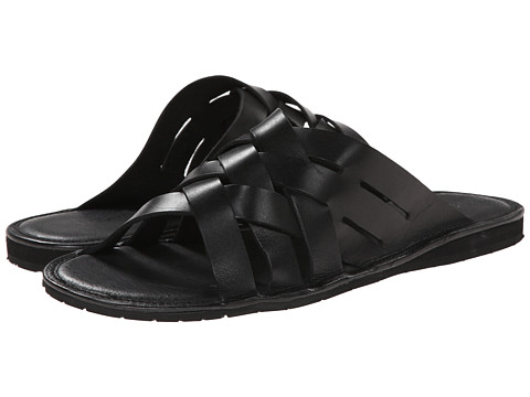 Fitzwell - Wilson (Black) Men's Flat Shoes