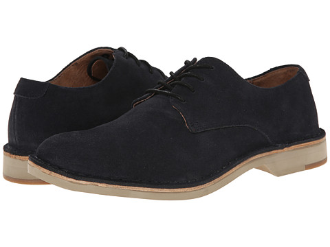 Fitzwell - Plano (Dark Blue Suede) Men's Lace up casual Shoes