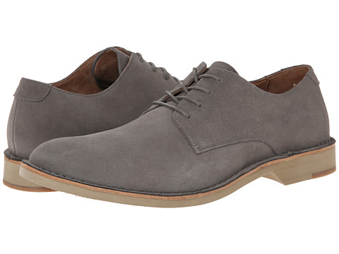 Fitzwell - Plano (Light Grey Suede) Men