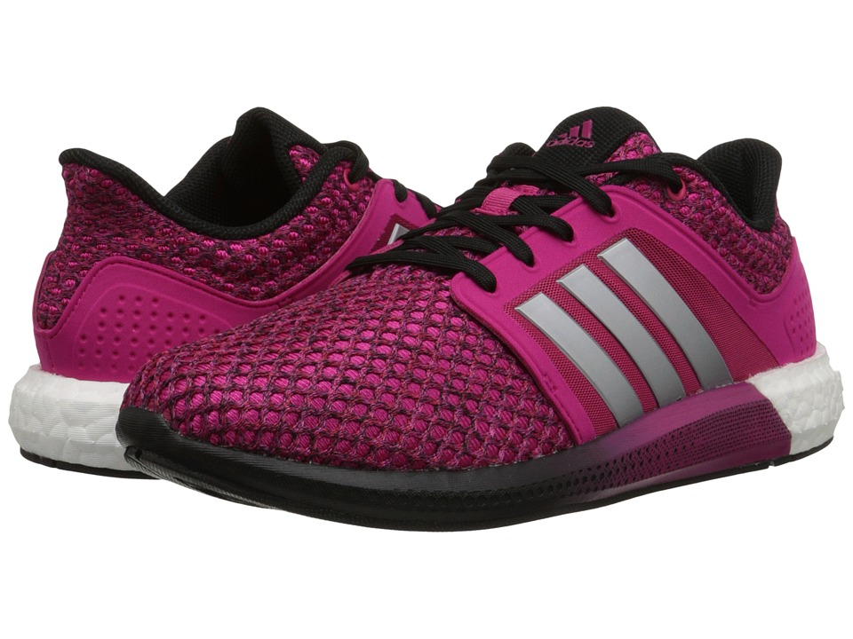 adidas Running - Solar Boost (Solar Pink/Dark Grey/White) Women's Running Shoes