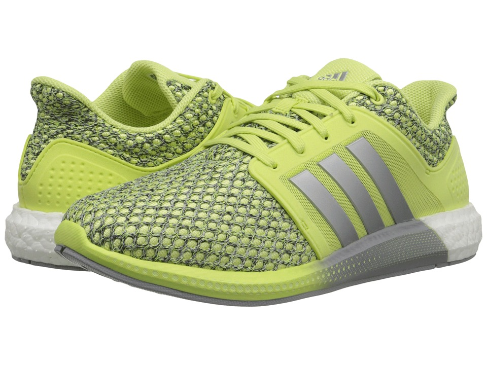adidas Running - Solar Boost (Light Flash Yellow/Silver Metallic/White) Women's Running Shoes