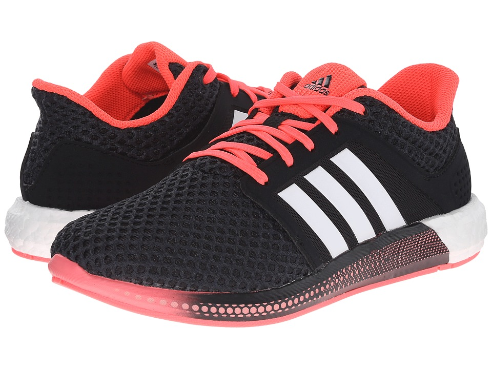adidas Running - Solar Boost (Black/White/Pink) Women's Running Shoes