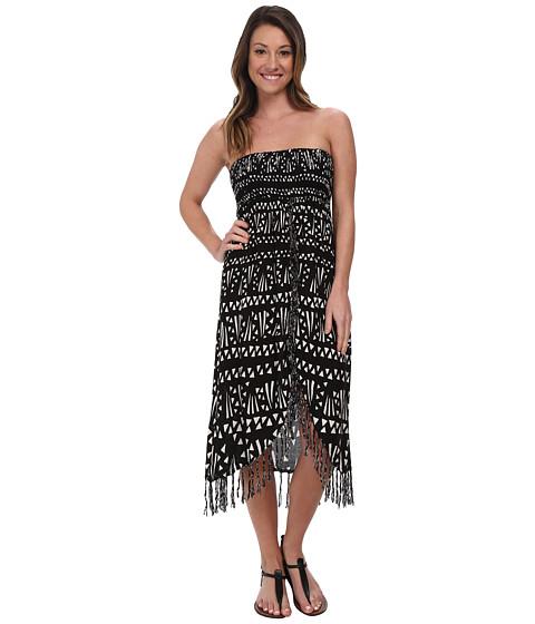 Volcom - Suns Up Dress (Black) Women's Dress