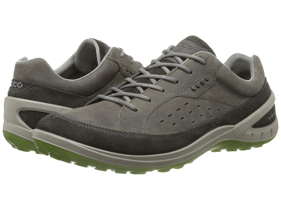 Ecco Performance - Biom Grip II (Dark Shadow/Dark Shadow/Herbal) Men's Lace up casual Shoes