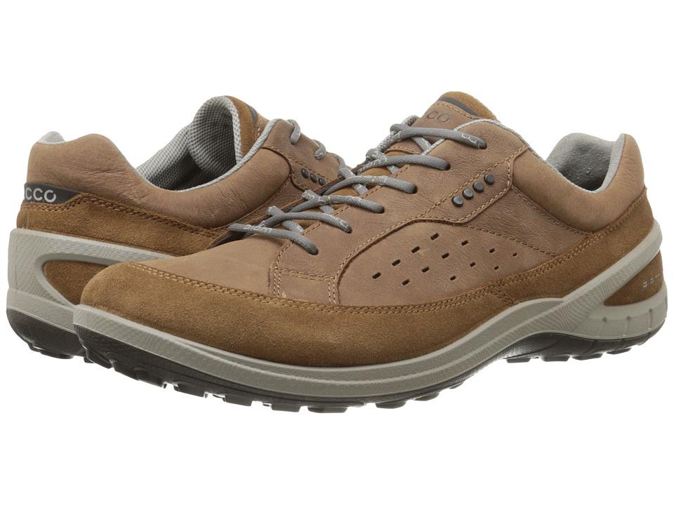 ECCO Sport - Biom Grip II (Camel/Camel) Men's Lace up casual Shoes