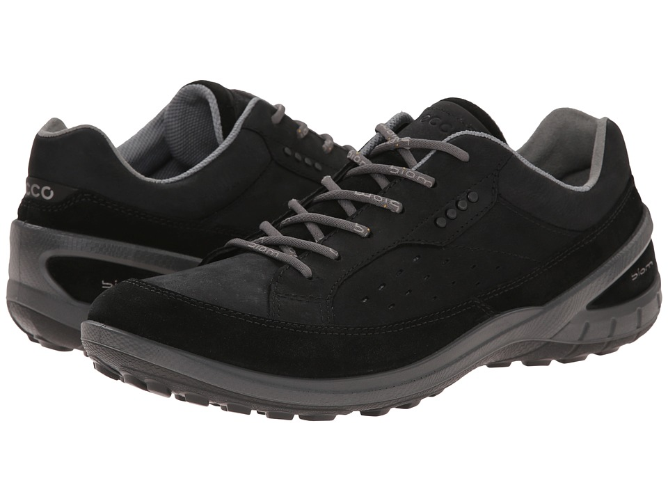 ECCO Sport - Biom Grip II (Black/Black) Men's Lace up casual Shoes