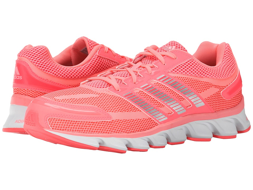 adidas Running - Powerblaze W (Flash Red/Silver Metallic/Light Flash Red) Women's Running Shoes