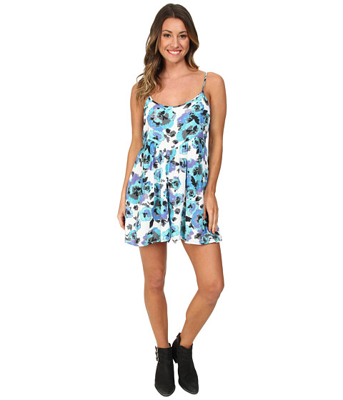 Volcom - Night Wanderer Romper (Blue Bird) Women's Jumpsuit & Rompers One Piece