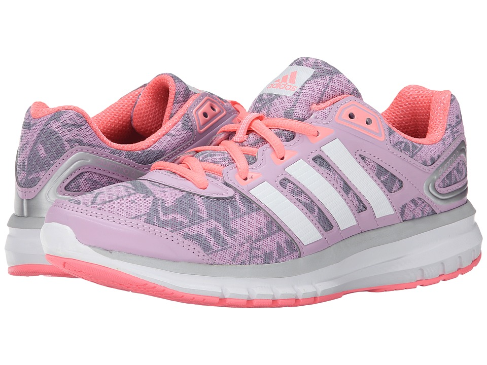 adidas Running - Duramo 6 W (Light Orchid/White/Light Flash Red) Women's Running Shoes
