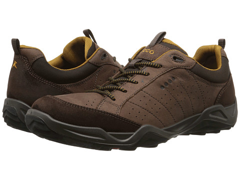 ECCO Sport - Sierra II (Mocha/Mocha/Dried Tobacco) Men's Shoes