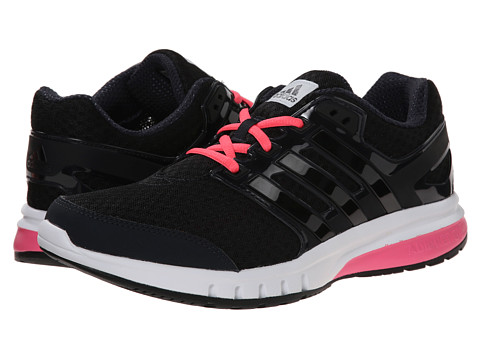 adidas Running - Galaxy Elite (Night Grey/Black/Solar Pink) Women