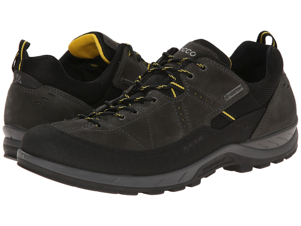 Ecco Performance - Yura GTX (Black/Dark Shadow) Men's Lace up casual Shoes