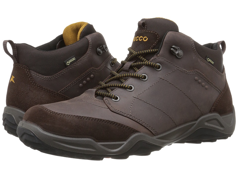 ECCO Sport - Sierra II GTX Mid (Mocha/Mocha/Dried Tobacco) Men's Lace up casual Shoes